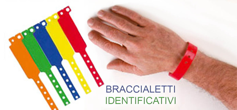 Braccialetti Identificativi
